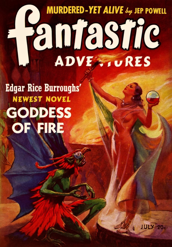 Fantastic Adventures July 1941