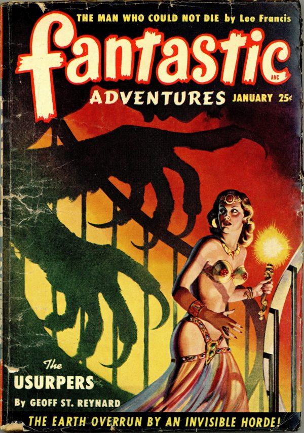 Fantastic Adventures Magazine January 1950