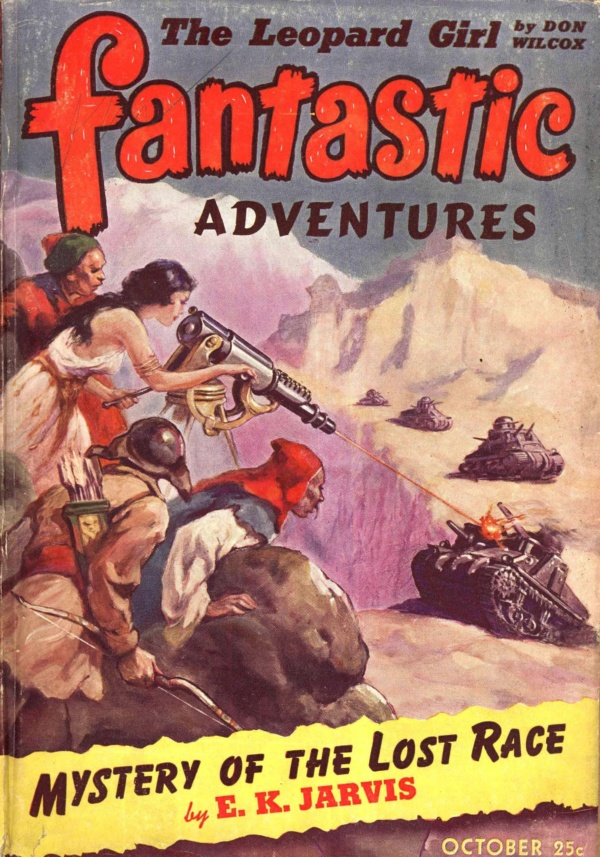 Fantastic Adventures, October 1942