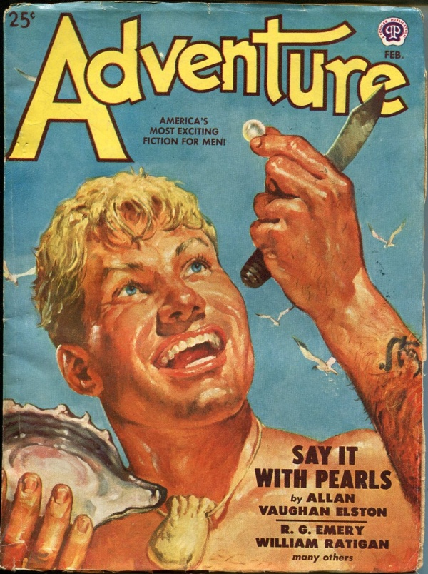 Adventure February 1949