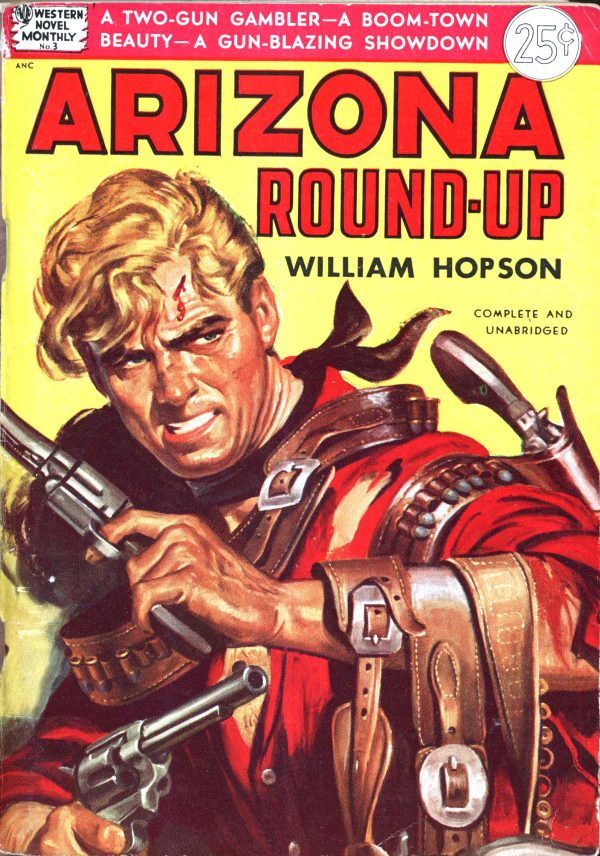 Avon Western Novel Monthly 4 - Arizona Round-Up (1950)
