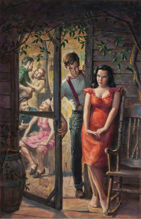 Desire in the Ozarks, paperback cover, 1957