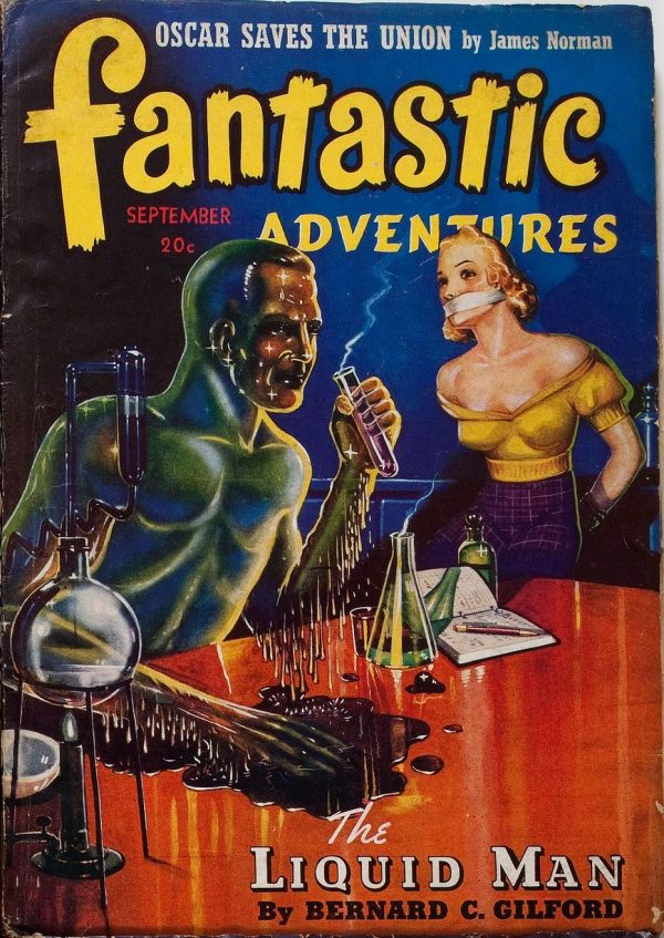 Fantastic Adventures September 1941