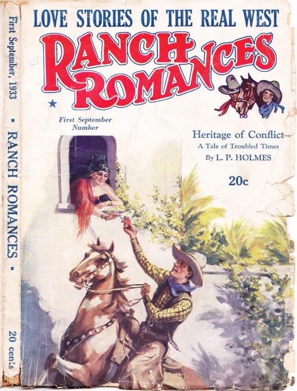 Ranch Romances 1st Sept 1933 cover 001