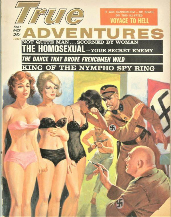 True Adventures Magazine June 1963
