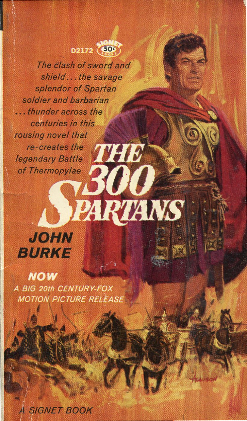 The 300 Spartans – Pulp Covers