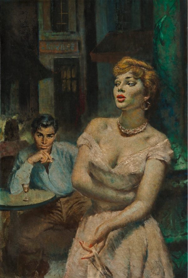Dark Streets of Paris (Lucifer's Dream) paperback cover, 1954