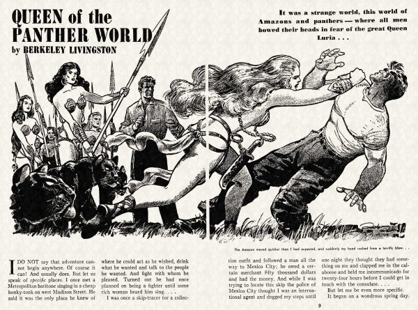 FA 1948-07 - 008-009 Queen of the Panther World - (illo.) Rod Ruth