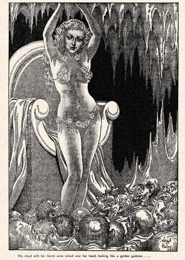 FA 1948-07 - 090-091 Mirrors of the Queen - (illo.) Virgil Finlay