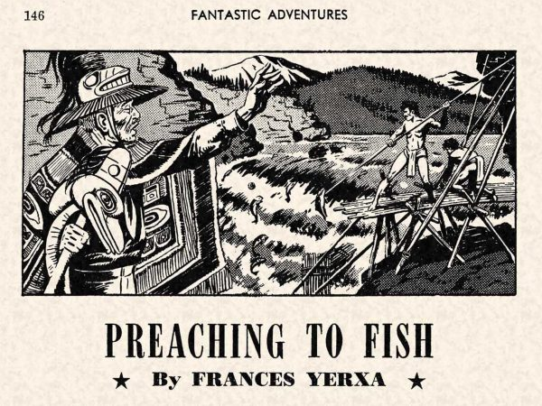 FA 1948-07 - 146 Preaching to Fish - Francis Yerxa