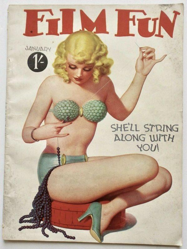 Jan. 1938 Film Fun UK