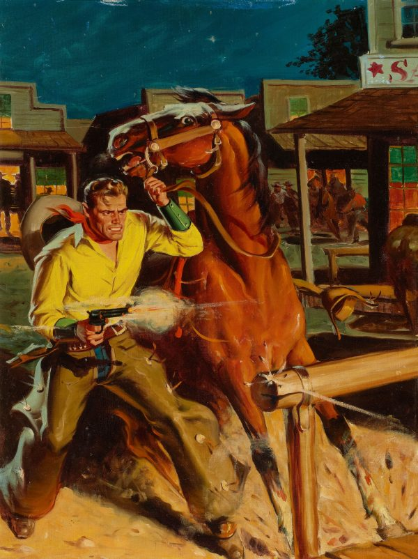 Sky-Pilot Cowboy, Popular Library #166, 1948
