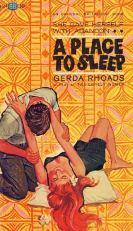 A Place to Sleep, Ballantine Books, #F 599, 1962