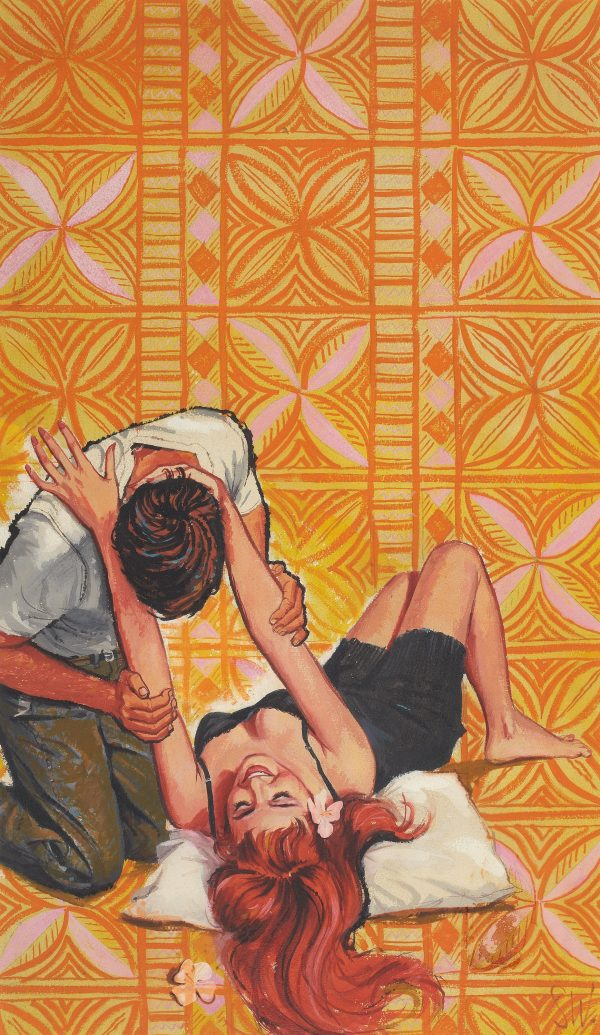 A Place to Sleep, paperback cover, 1962