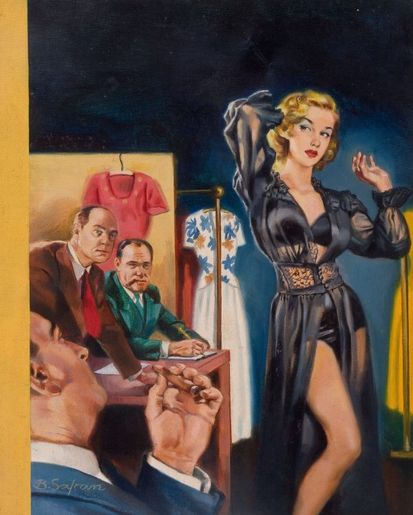Bernard Safran The Indiscretions Of A French Model, Paperback Cover, 1953