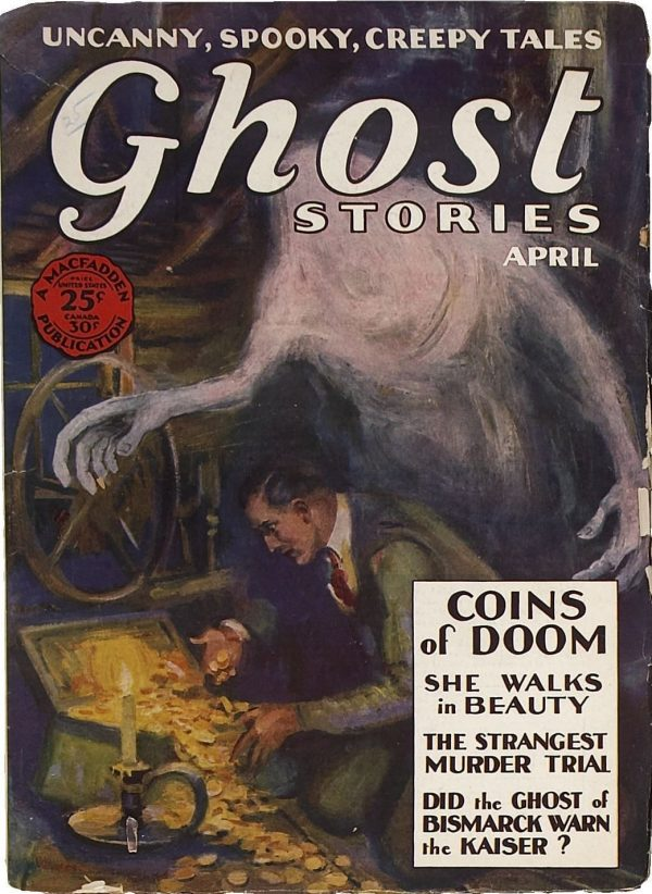 Ghost Stories April 1929 Coins Of Doom