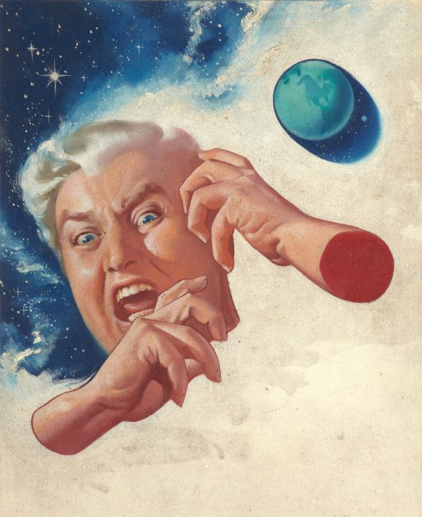 Deep Freeze, Imagination cover, January 1953