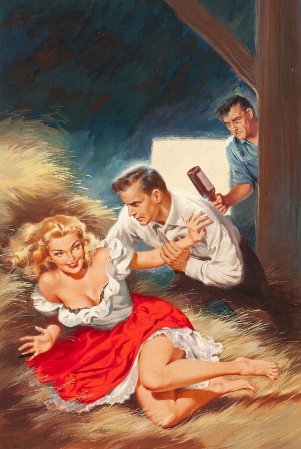 Local Talent, paperback digest cover, 1952