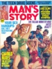 MAN'S STORY, October 1969 thumbnail