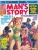 MAN'S STORY, October 1969 thumbnail