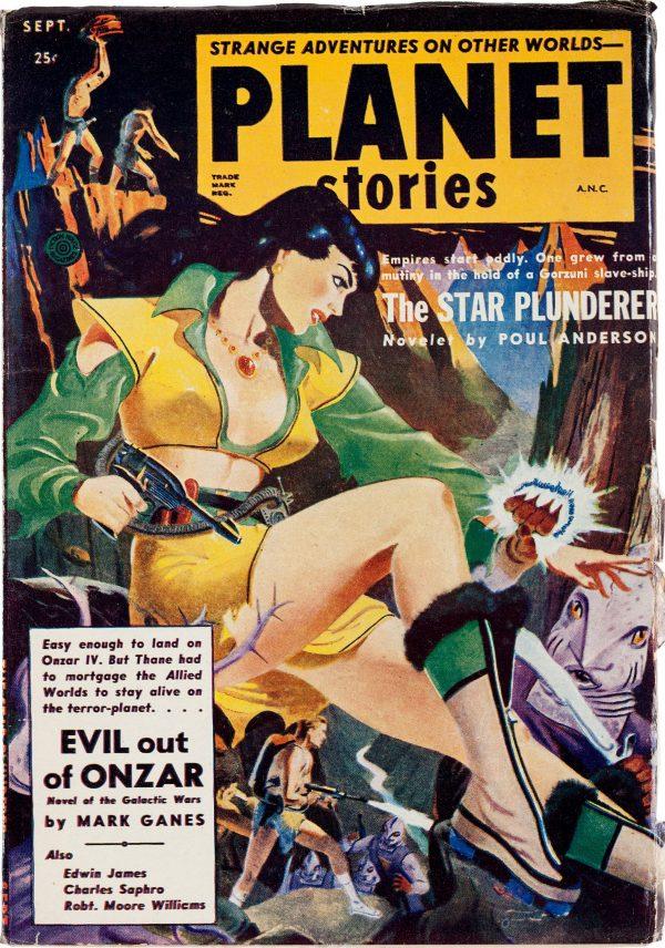 Planet Stories September 1952