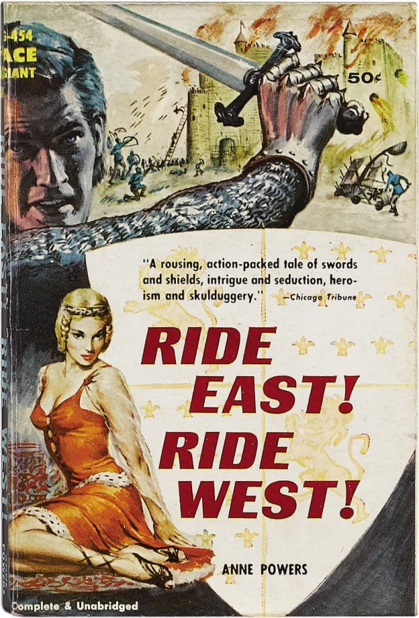 Ride East! Ride West! Ace Giant #G-454, Ace Books, 1947