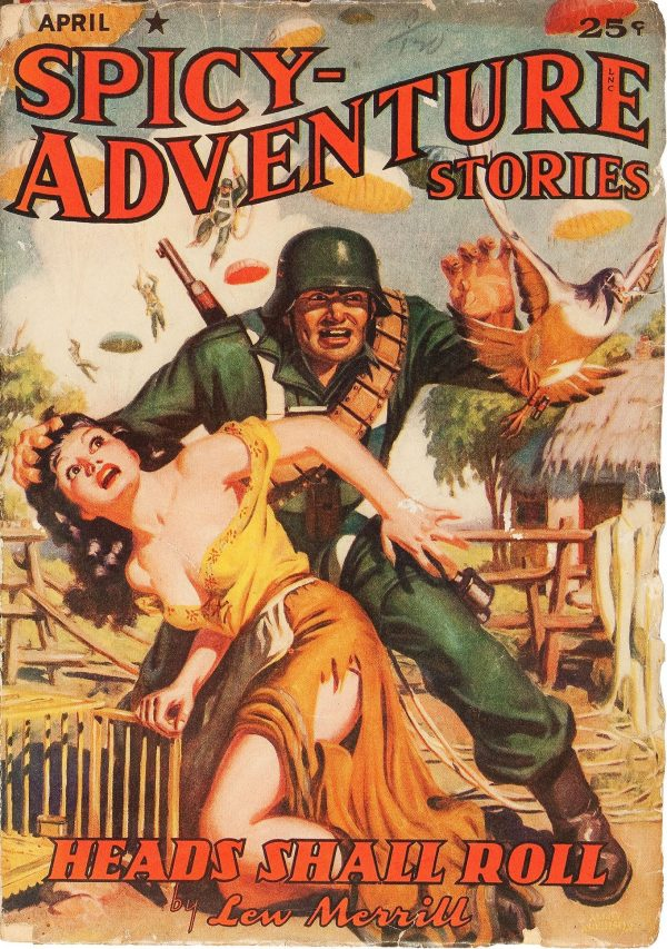 Spicy Adventure Stories April 1942