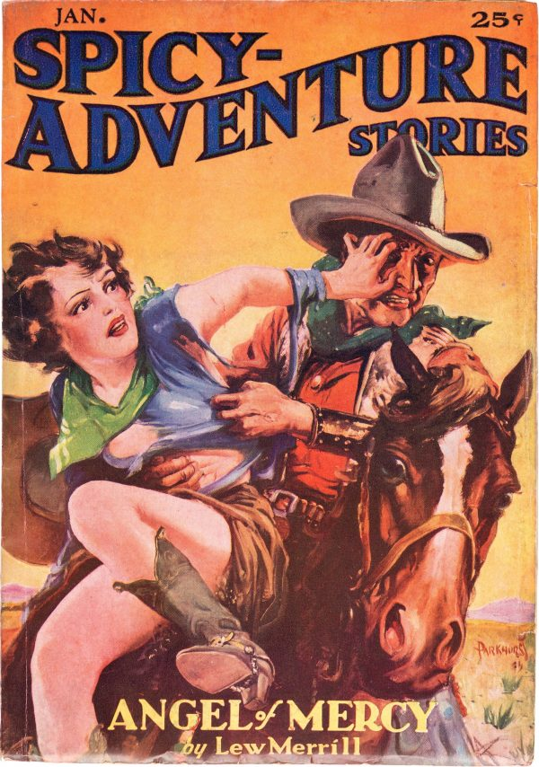Spicy Adventure Stories - January 1936