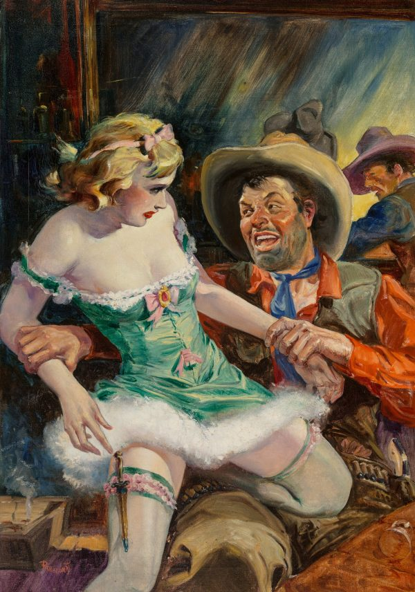 Spicy Western Stories magazine cover, December 1938