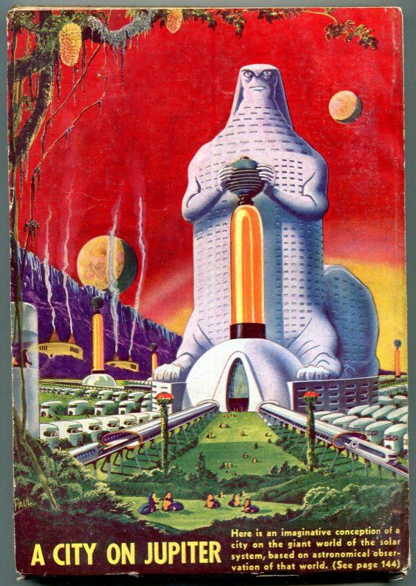 Amazing Stories February 1941 back