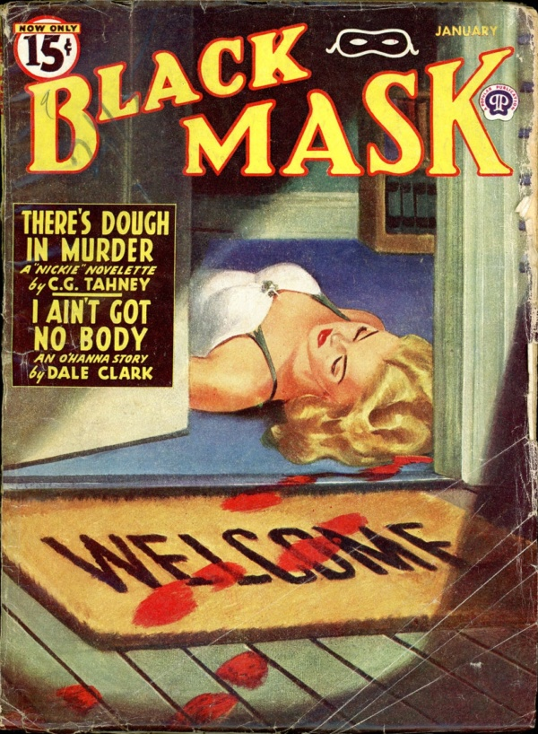 BLACK MASK. January, 1946