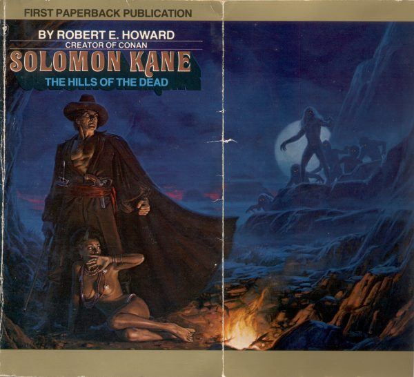 Bantam - March 1979 - Solomon Kane #2 - The hills of the Dead _ Bob Larkin _