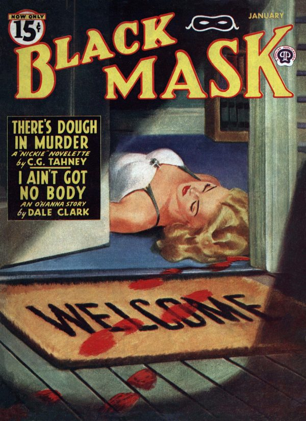 Black Mask Magazine January 1946