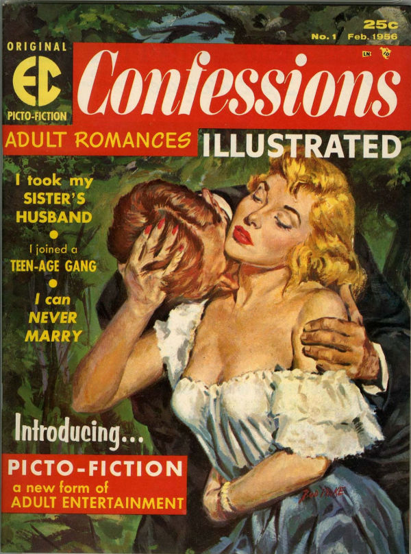 Confessions Illustrated #1 (EC, 1956)