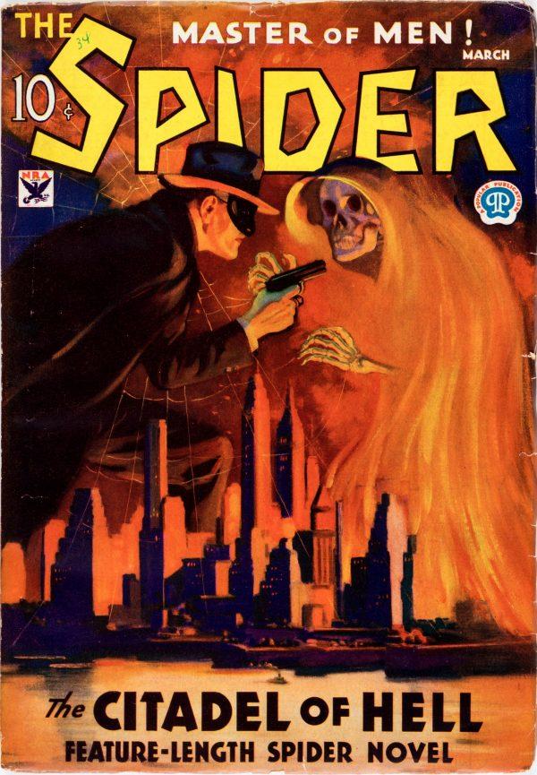 Spider - March 1934