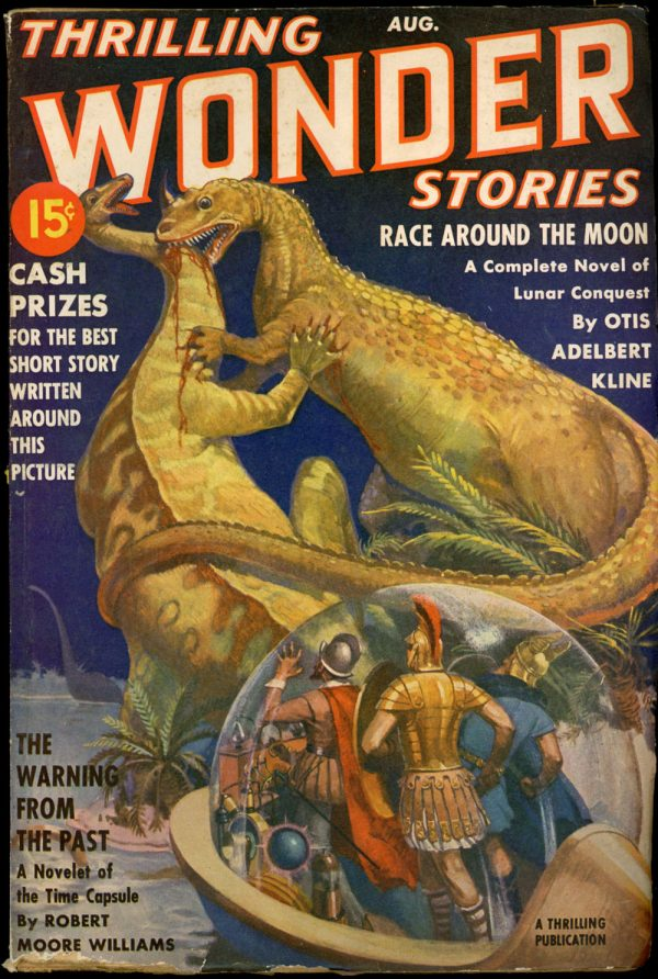 THRILLING WONDER STORIES. August 1939