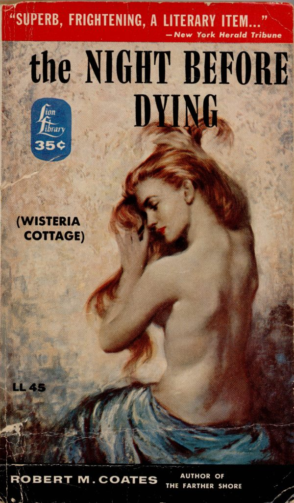 The Night Before Dying (Original Title Wisteria Cottage)