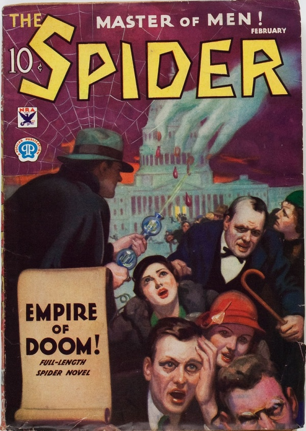 The Spider - February 1934