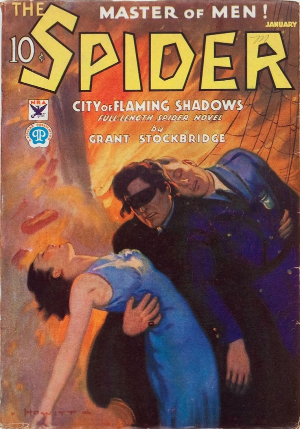 The Spider - January 1934