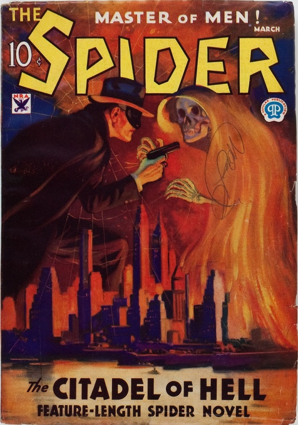 The Spider - March 1934