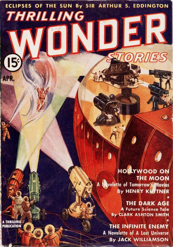 Thrilling Wonder Stories - April 1938