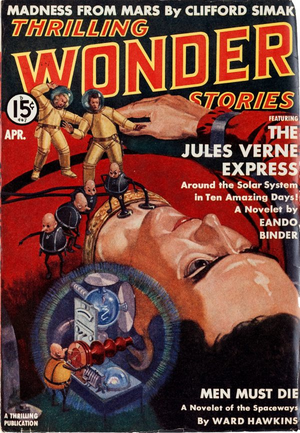 Thrilling Wonder Stories - April 1939