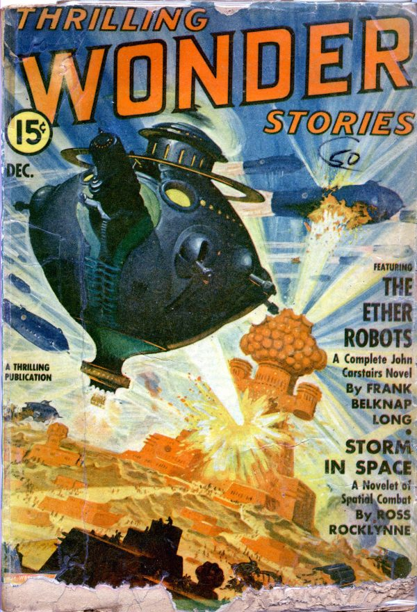 Thrilling Wonder Stories, December 1942