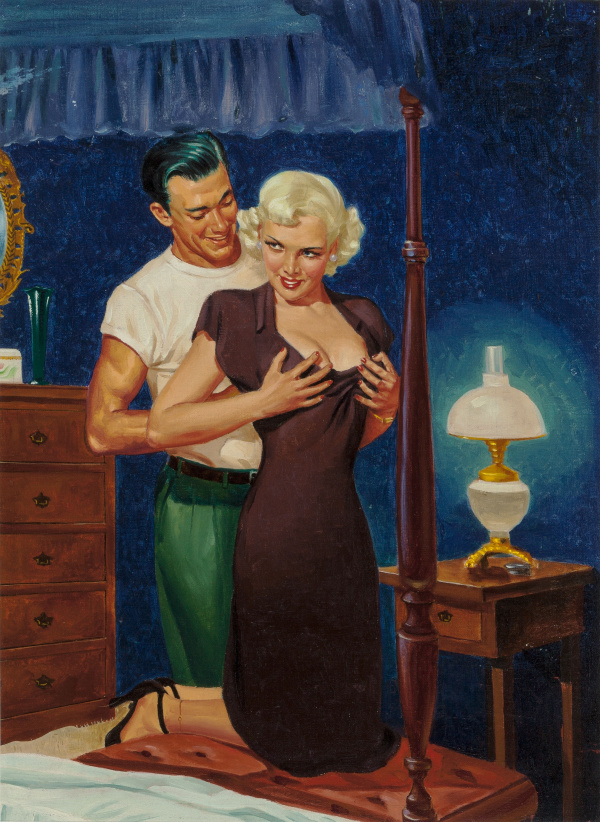 Bed-Time Angel, paperback cover, 1951