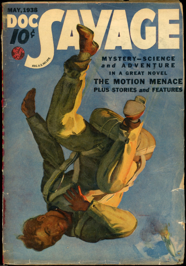 DOC SAVAGE. May, 1938