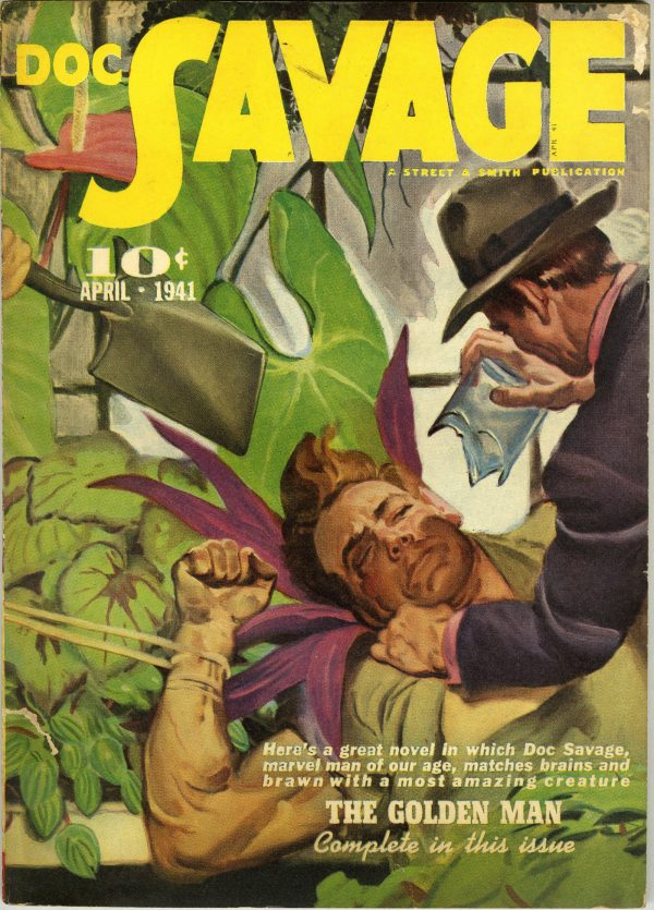 Doc Savage April 1941