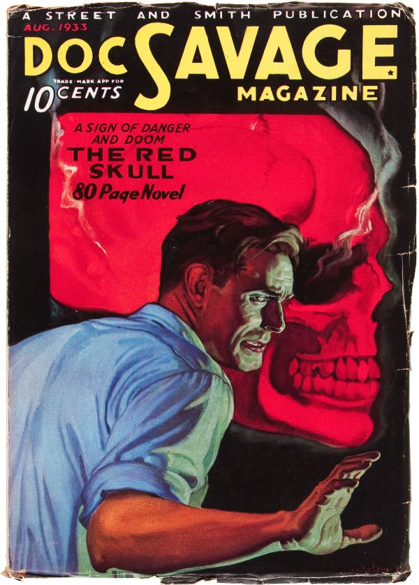 Doc Savage August 1933