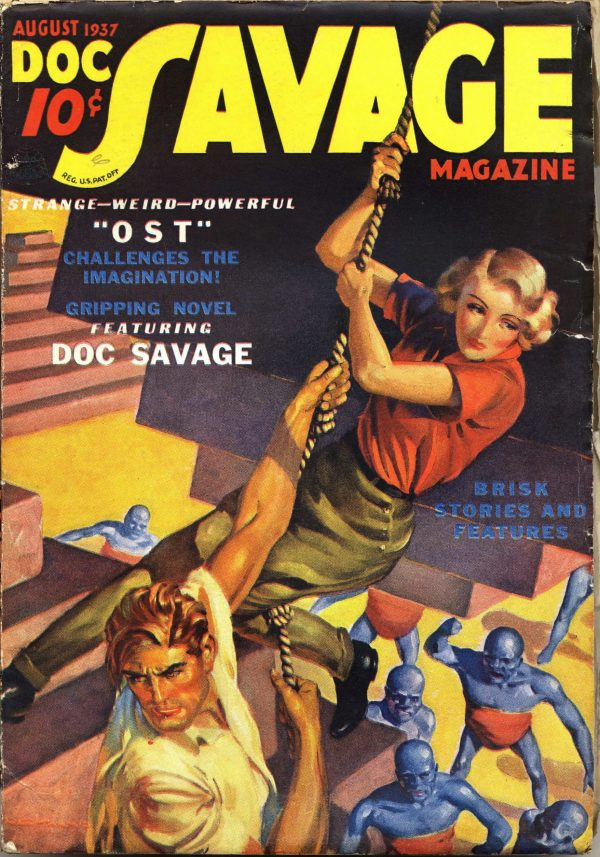 Doc Savage August 1937