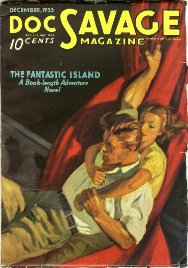 Doc Savage December 1933