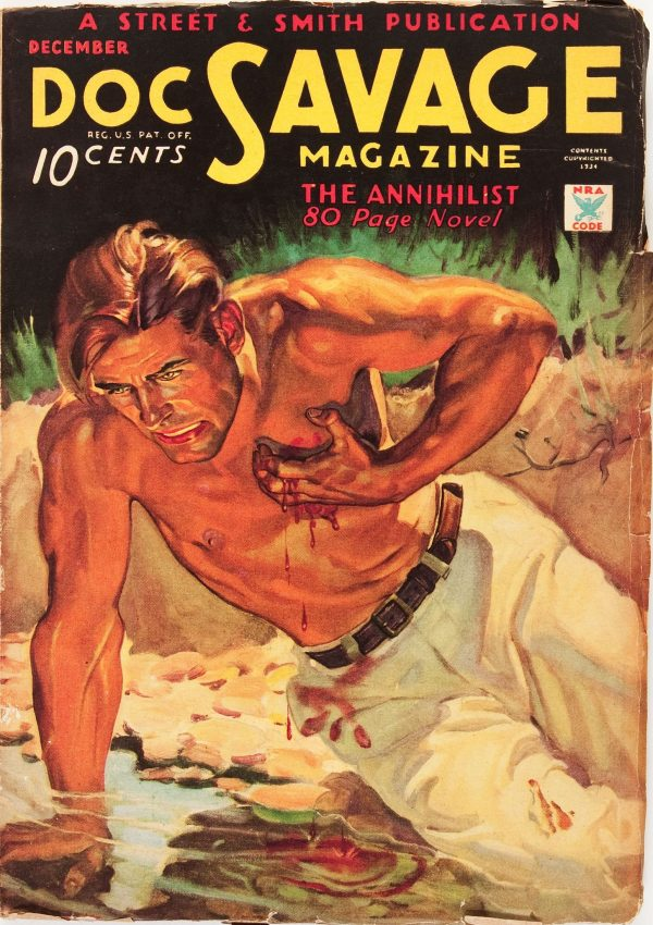 Doc Savage - December '34